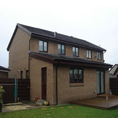 Callan Joinery Glasgow house extension.